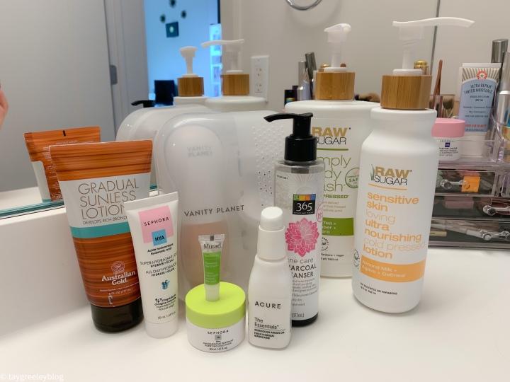 My Quarantine SkincareRoutine