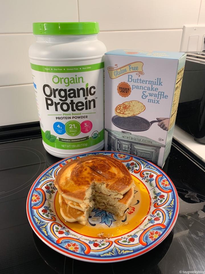 Gluten Free ProteinPancakes